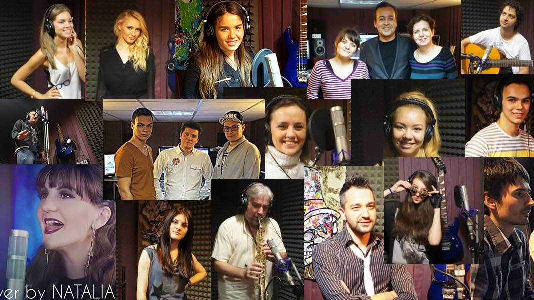 interpreti muzicieni vocalisti si instrumentisti cu care am colaborat