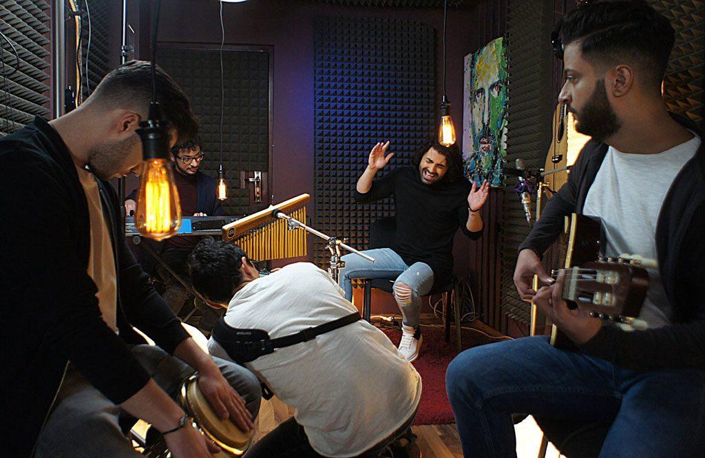 Filmare videoclip in studio cu Pepe