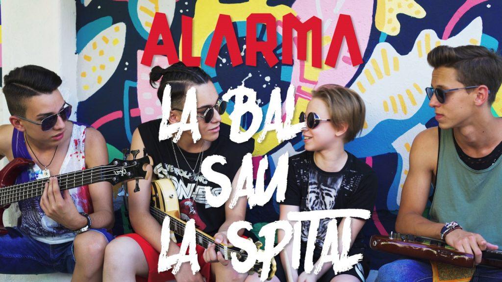 Single si videoclip nou Alarma - La Bal Sau La Spital